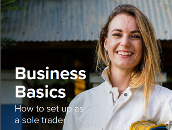 Business Basics: How to set up as a sole trader