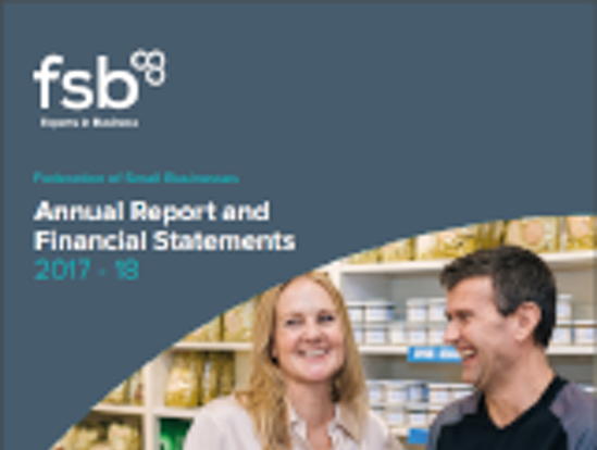FSB Annual report 2017 - 2018