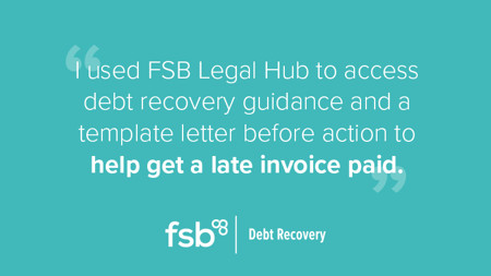 Get late invoices paid