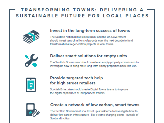 Transforming Towns: Our Asks