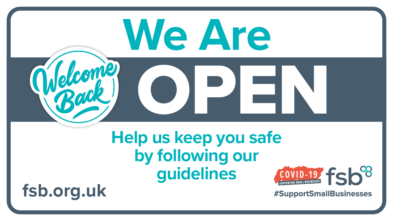 We are open. Help us keep you safe