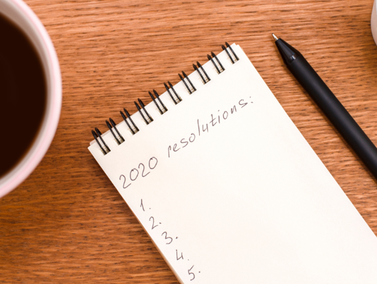 New Year Resolutions to help get your business in shape for 2020