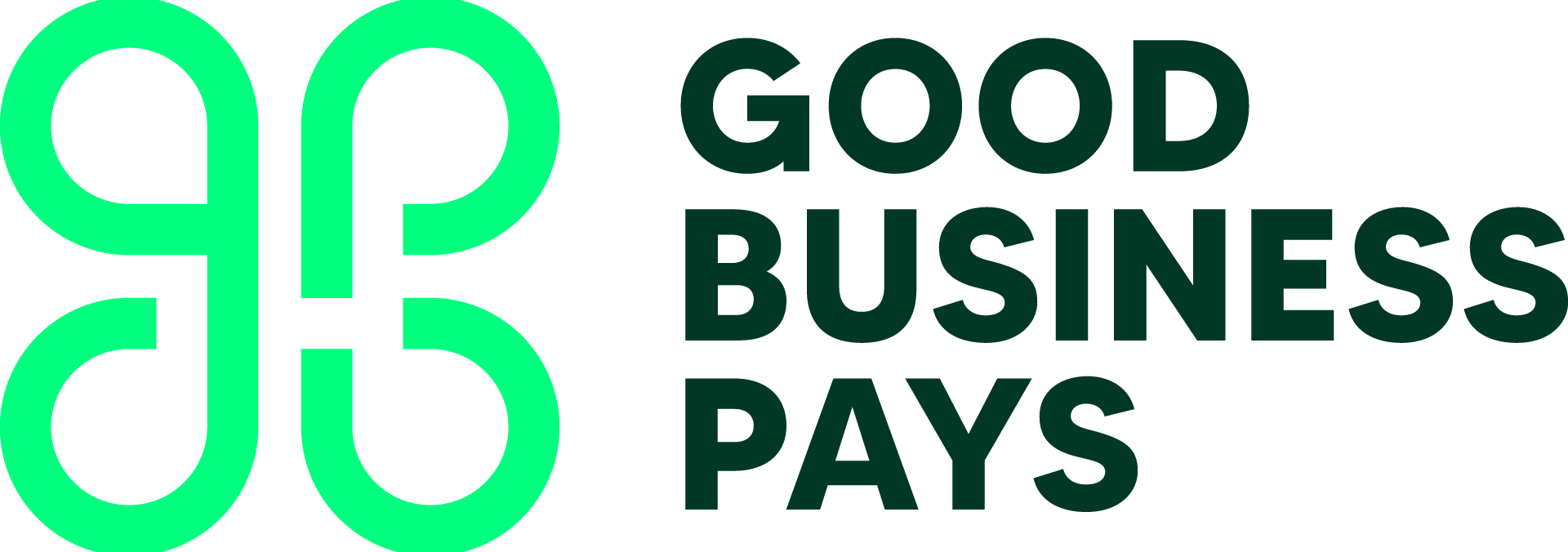 The Good Business Pays Logo