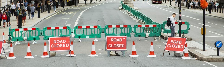 Barricaded Road