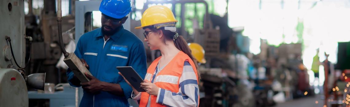 Health and safety training in construction business
